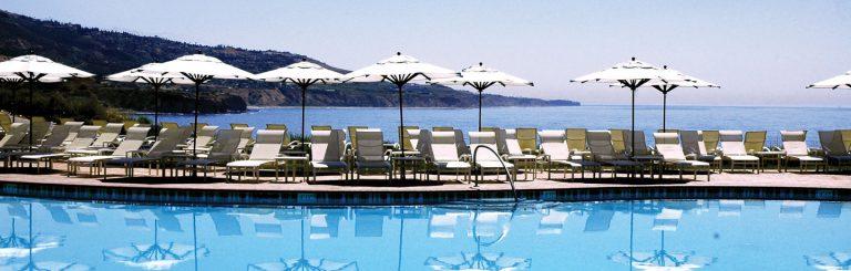 Terrnea Resort Pool overlooking the ocean