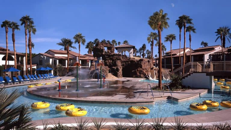 One of the best pools in the USA is at Omni Rancho Las Palmas