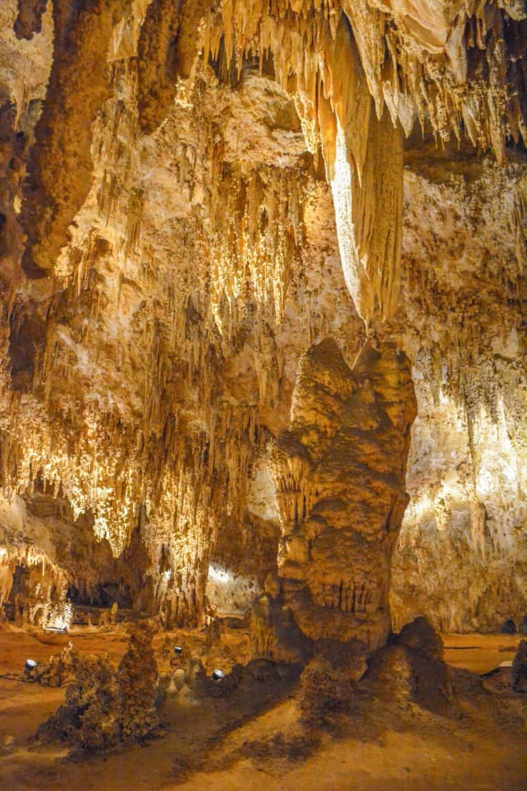 Carlsbad Caverns National Park tours Kings Palace