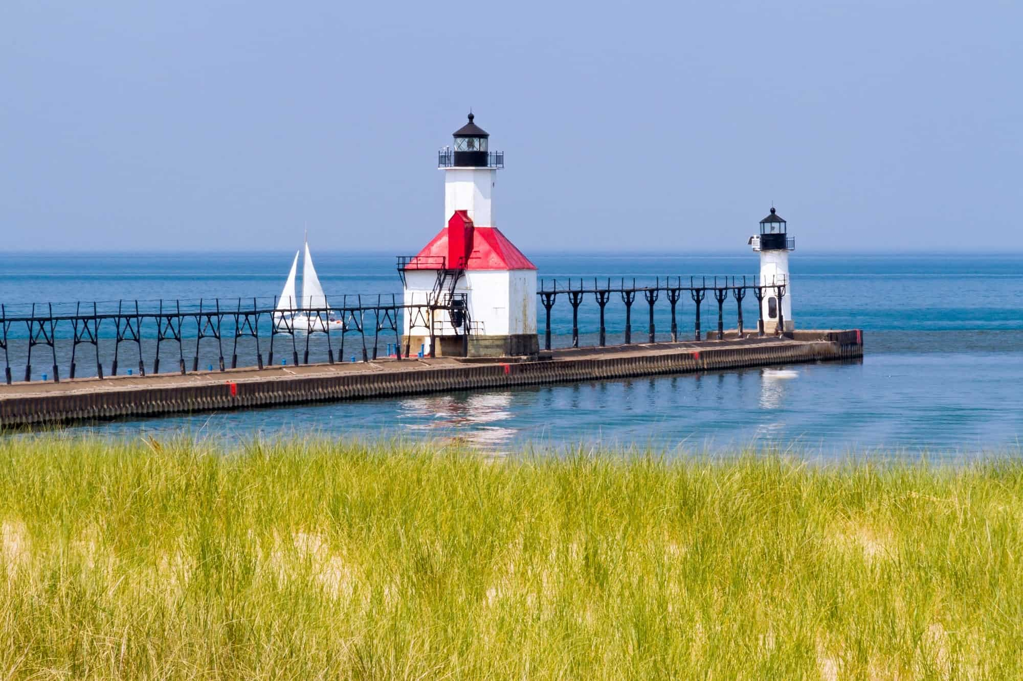 A Midwestern Beach Getaway: St. Joseph, Michigan