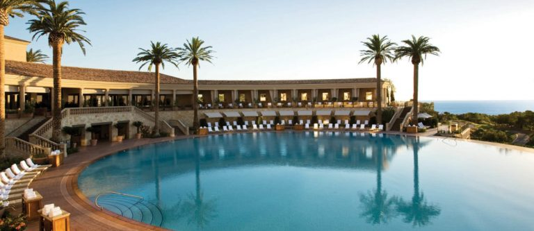 The best circulat hotel pool is at the Resort at Pelican HIll