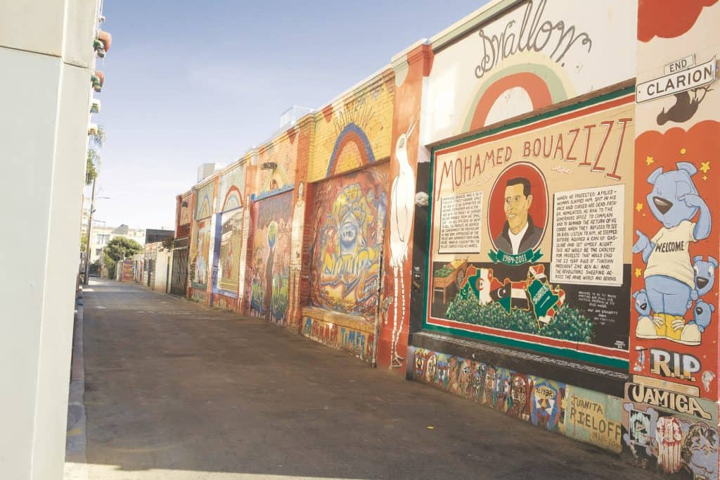 Mission District Murals in San Francisco