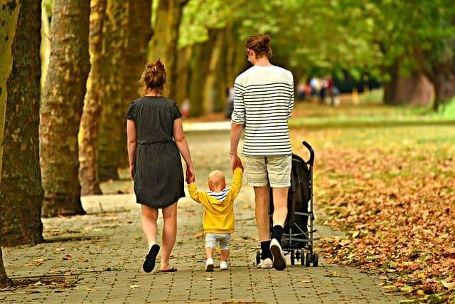 stroller walk photo