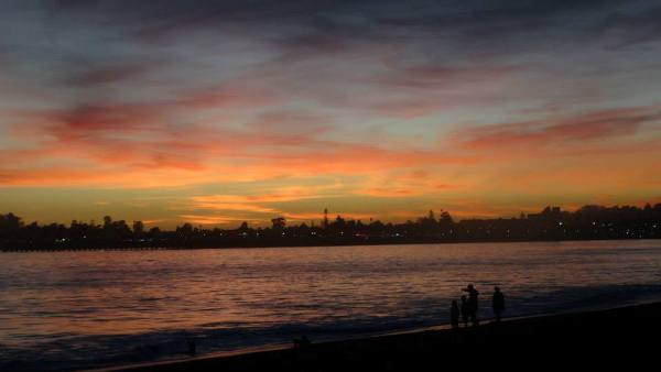 Sunsets in Santa Cruz