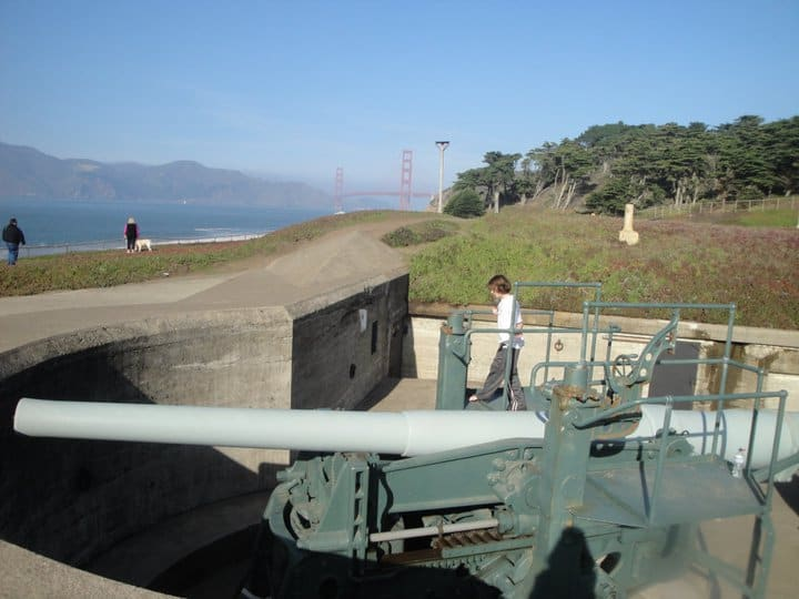 Battery Chamberlain Presidio