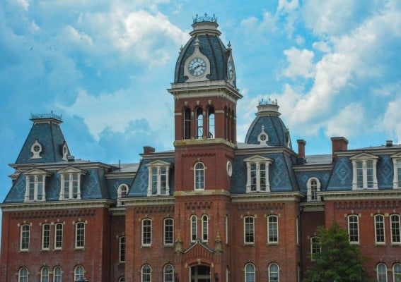 The university at Morgantown, West Virginia