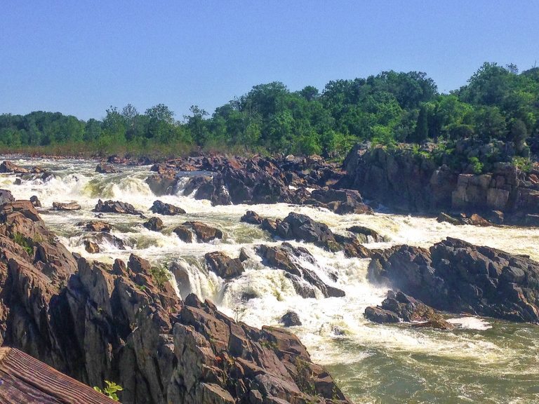 Day Trips from DC for families Great Falls of the Potomac