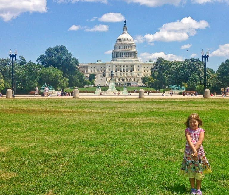 What to do in DC with toddlers? Go to the Smithsonian Museums on the National Mall