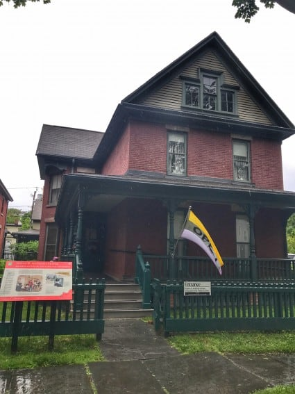 Susan B Anthony Home in Rochester NY