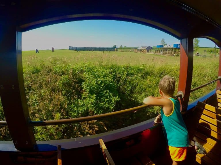 things to do with kids in PA in Lancaster County Strasburg Rail Road