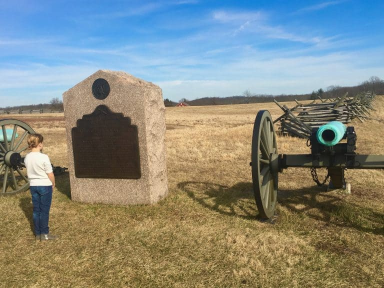 Top Attractions in Pennsylvania Gettysburg National Military Park