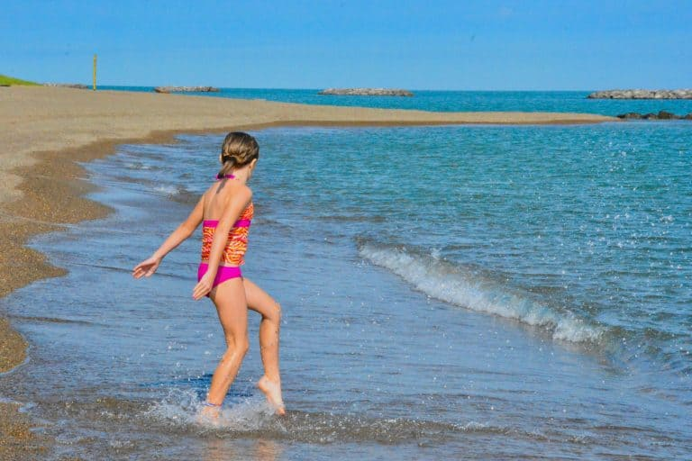 Fun things to do with kids in PA Presque Isle Park on Lake Erie