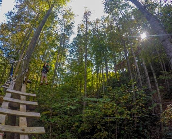 Great Smoky Mountains National Park Deep Creek Waterfalls and Bryson City, NC