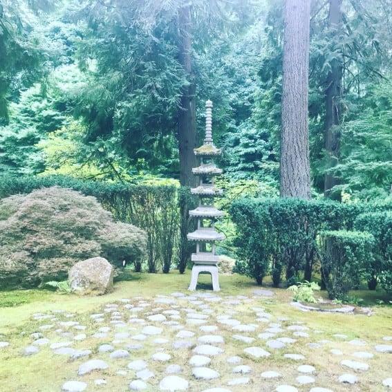 Portland's Japanese Tea Garden
