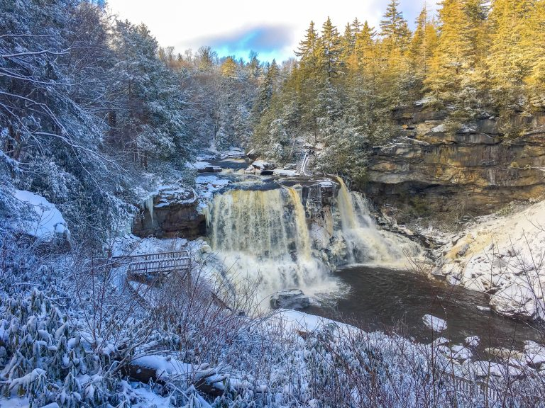 Blackwater Falls State Park one of the top places to visit in West Virginia