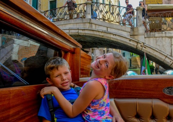 figuring out what to do in venice with kids