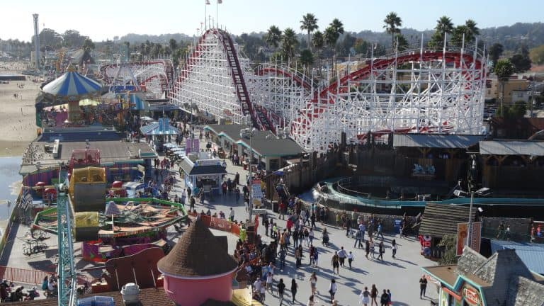 Things to do in Santa Cruz with kids - Boardwalk
