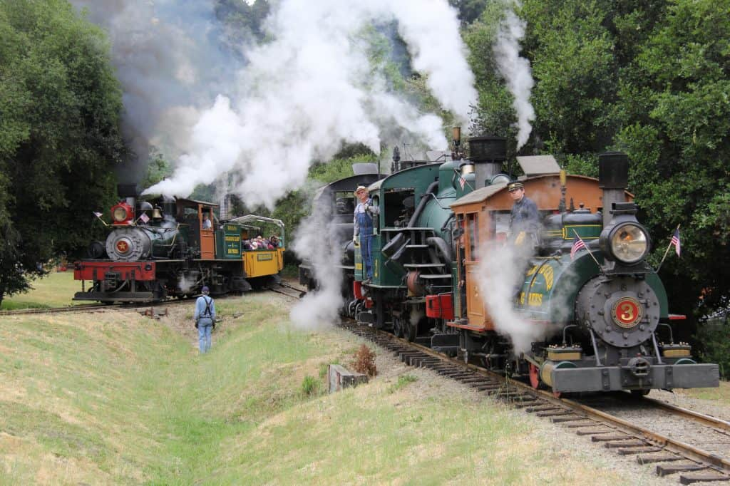 Things to do with kids in Santa Cruz - Roaring Camp Railroads