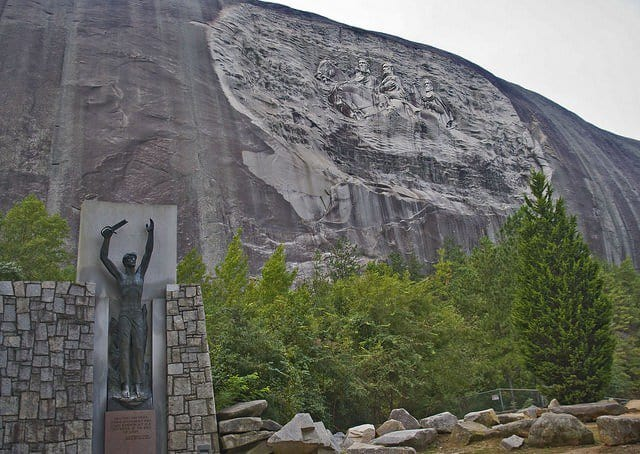 top things to do in Atlanta include visiting Stone Mountain