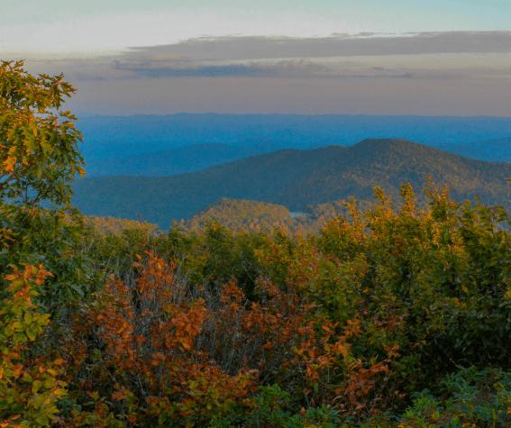 Asheville, North Carolina And The Blue Ridge Parkway