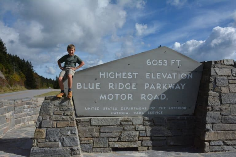 What to do in North Carolina drive the Blue Ridge Parkway