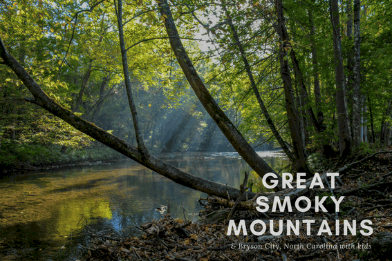 Bryson City Great Smoky Mountains National Park Map
