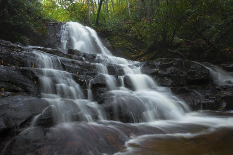 things to do in Great Smoky Mountains National Park visit Laurel Falls