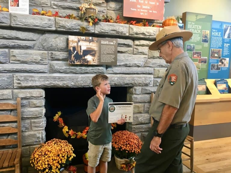 National Park Junior Ranger Program Great Smoky Mountains