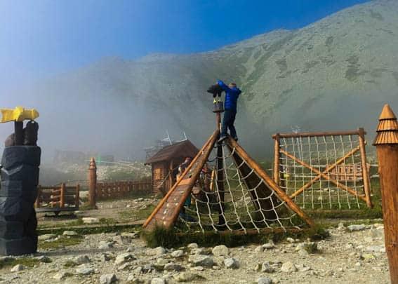 Skalnate Pleso Marmot Playground Tatra Mountains Slovakia