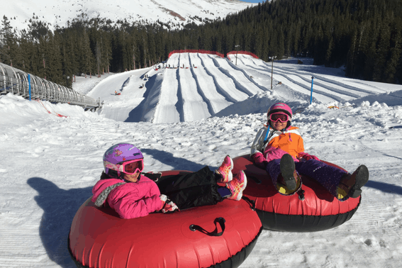 Keystone Resort with Kids tubing