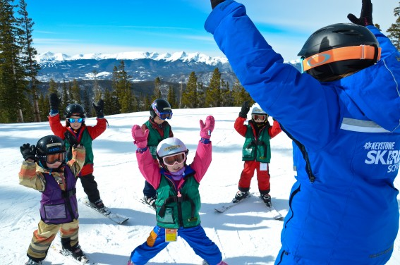 Keystone Resort with Kids ski lessons