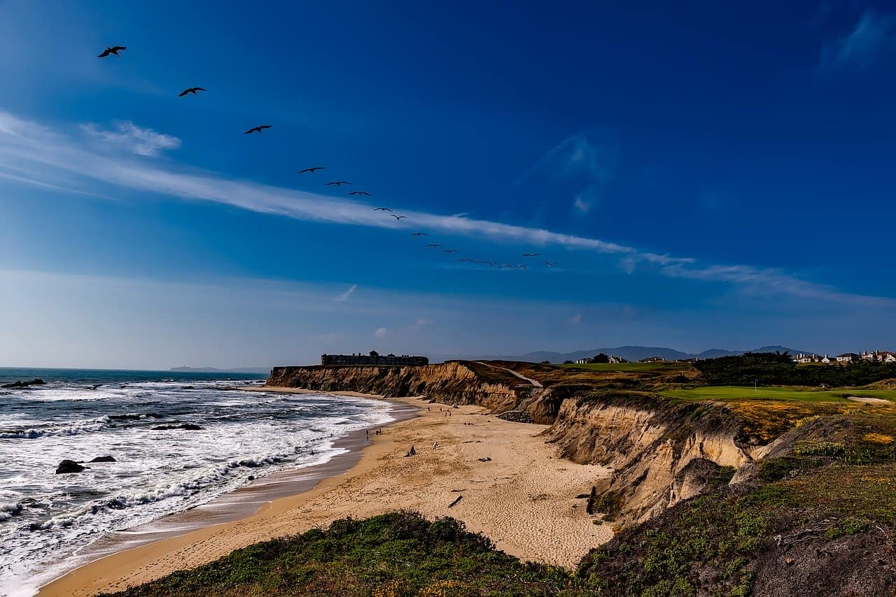 half moon bay is a great day tip from San Francisco