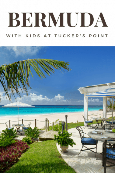 BERMUDA with kids at Tucker's Point
