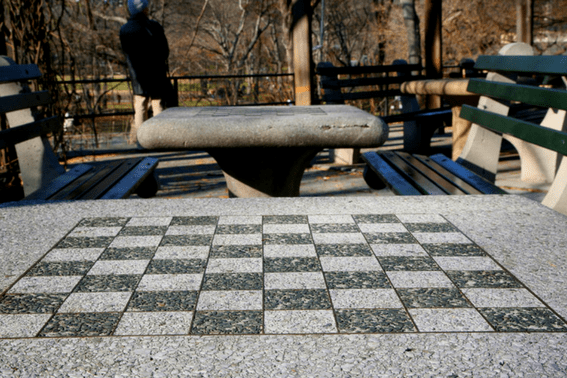 Chess & Checkers house in NYC's Central Park