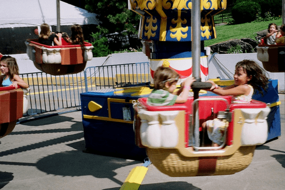 Victorian Gardens Amusement Park in Central Park
