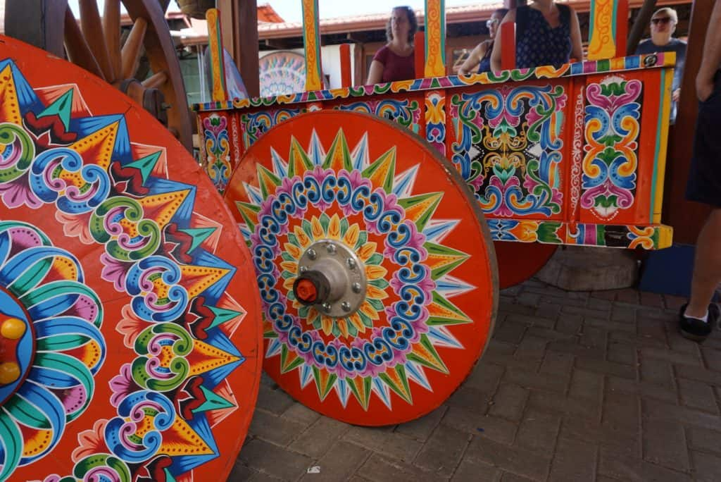 Costa Rica Sarchi Oxcart Painting - LiLing Pang