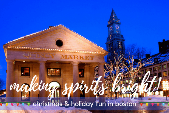 Christmas and holidays in boston