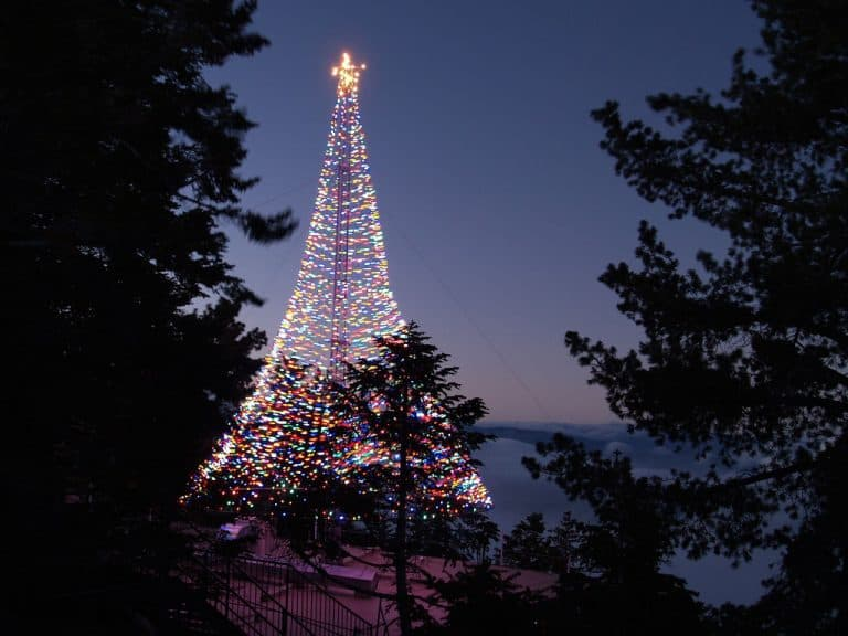 Palm Springs Christmas events