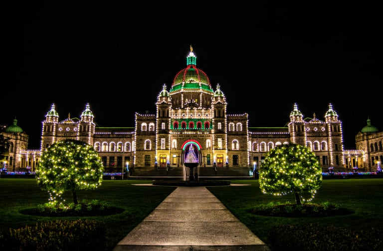 Victoria and Vancouver Christmas