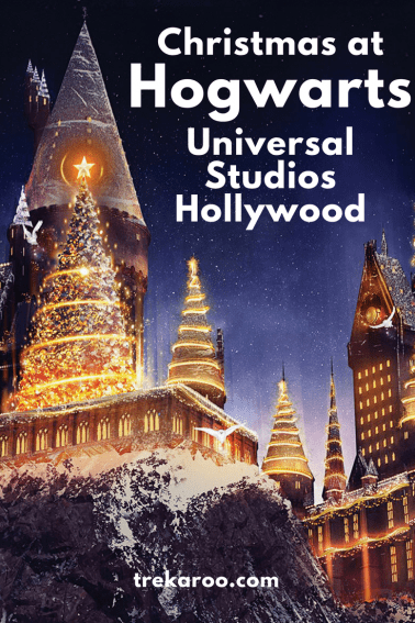 Explore the magic of the Christmas holidays at Universal Studios Hollywood with Christmas at the Wizarding World of Harry Potter