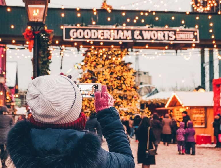 The best Christmas Events in Toronto include Christmas markets