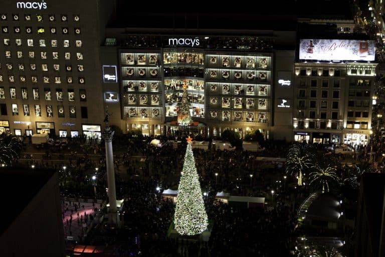 Holiday events in San Francisco in Union Square
