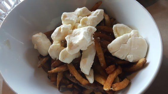 A must-eat when traveling to Canada- poutine is found almost everywhere in Quebec City