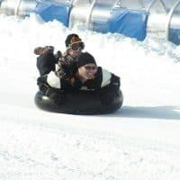 Big Bear Snow tubing with kids