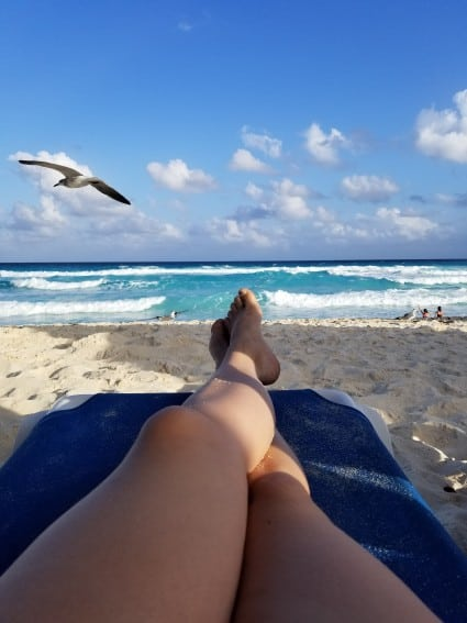 Enjoying the Ocean Breeze at Seadust Cancun Family Resort2