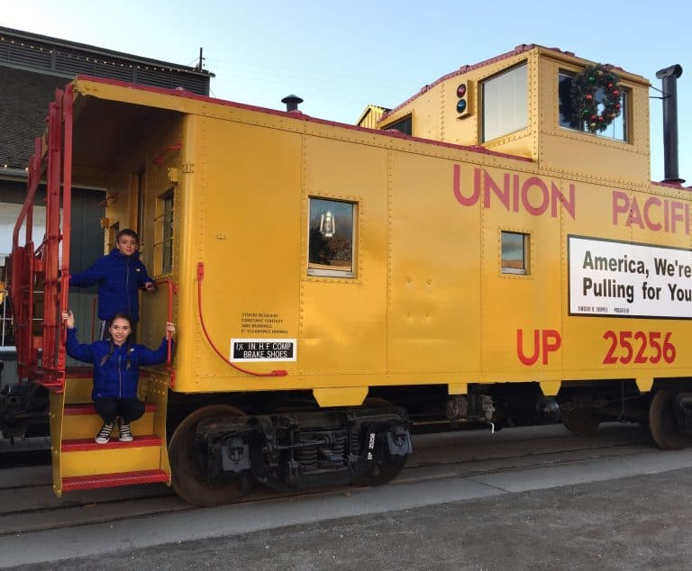 Things to do in Sacramento with kids include California State Railroad Museum