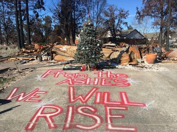 traveling after tragedy, Santa Rosa