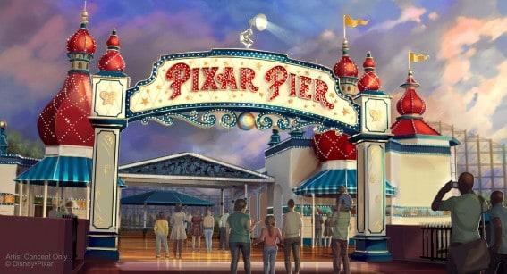 Sneak Peak: Everything We Know about Pixar Fest and Pixar Pier at Disneyland California Resort 2