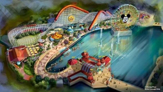 Pixar Pier What's Coming to Disney California Adventure