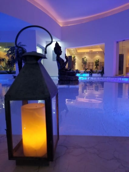 Seadust Cancun's luxury spa offers a variety of full service treatments for adults and even kids